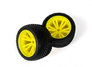 BSR Beserker 1/8 Truggy - Jogo de rodas (amarelo) (1 par) 817351-Y