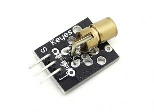 Módulo de diodo Keyes 650nm Laser para Arduino