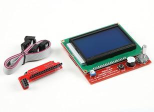 Impressora 3D Full Graphic Controlador Smart (rampa RepRap)