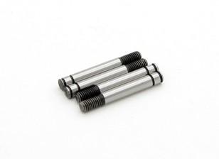 TrackStar Hardened Choque Shaft 3,2x 24 milímetros (4) S122024