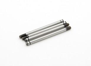 TrackStar Hardened Choque Shaft 3.2 x 48 milímetros (4) S162048