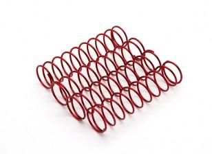 TrackStar Suspensão Spring Red 14 x 65 milímetros 2,1 kg (4) S169165