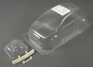 01:10 Fiat 500 Limpar Shell corpo (para M chassis)