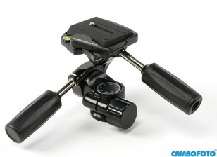 Cambofoto HD36 3Way Sistema Panhead para câmera Tri-Pods
