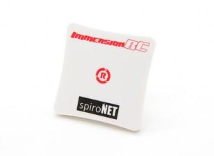 SpiroNet 8dBi RHCP Mini Antena Patch