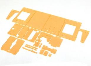 Turnigy Mini Fabrikator 3D v1.0 Printer Peças - Laranja Habitação