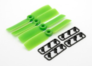GemFan Touro Nose 3545 GRP / Nylon Hélices CW / CCW Set Green (2 pares)