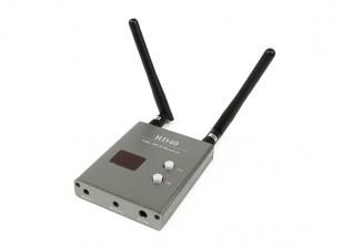SkyZone FPV 5.8 GHz Cabos 40CH RD40 Diversidade receptor A / V e de energia
