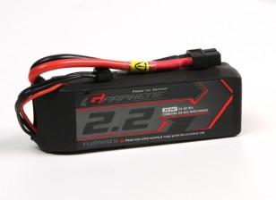 Turnigy Grafeno 2200mAh 3S 45C LiPo pacote w / XT60