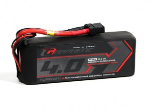 Turnigy Grafeno 4000mAh 4S 65C Lipo pacote w / XT90