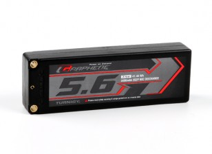 Turnigy Graphene 5600mAh 2S2P 90C Hardcase Lipo Pack (ROAR APPROVED)
