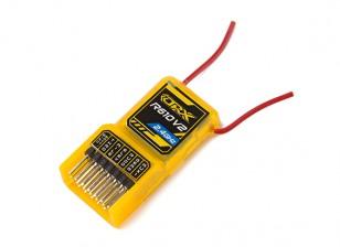 OrangeRx R610V2 DSM2 receptor 6CH 2,4 GHz Compatível w / CPPM