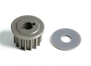 Atualizar metal unidade principal engrenagem V2 - BSR Corrida BZ-222 1/10 2WD Corrida Buggy