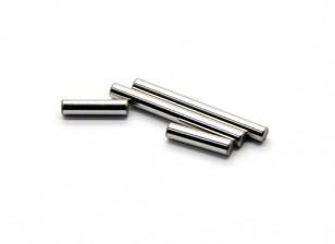 Engrenagem Central Shaft A, B (2pcs) - Basher Rocksta 1/24 4WS Mini rastreador de Rock