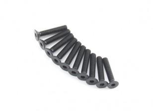 Machine Head metal plana Hex Screw M2.6x14-10pcs / set
