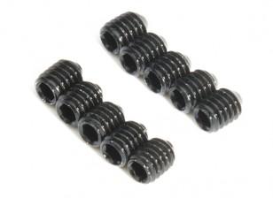 Metal Grub parafuso M4x5-10pcs / set