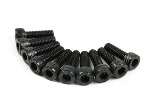 Metal soquete Machine Head Hex Screw M5x16-10pcs / set