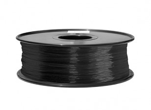 HobbyKing 3D Filament Printer 1,75 milímetros PA Nylon 1,0 kg Spool (Black)