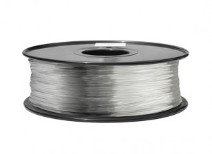 HobbyKing 3D Filament Printer 1,75 milímetros ABS 1KG Spool (totalmente transparente)