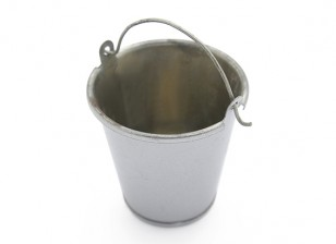 1/10 Escala de Metal Bucket