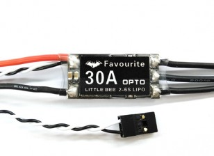 Favourite Little Bee 30A 2-6S ESC (Sem BEC)
