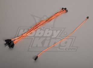 40CM Servo de chumbo (JR) 32AWG Ultra Light (10pcs / saco)