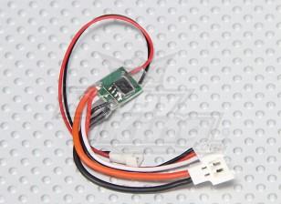 HobbyKing 3A Single Cell ESC - escovado Micro Motors