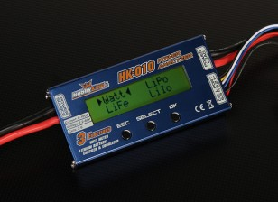 HobbyKing HK-010 Wattímetro & Analyzer Voltage