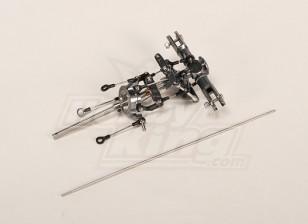 HK-450 cabeça do rotor principal assemply atualizar. (4mm FS)