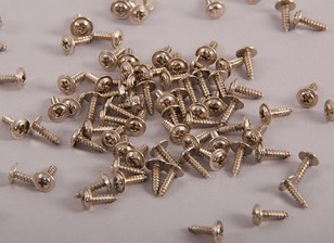 Auto Tapping Machine Screw M2x8mm Phillips cabeça w / ombro (100pcs)