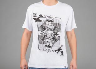 HobbyKing Vestuário Rei Cartão de camisa de algodão (XL)