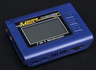 Turnigy ™ 7in1 mega medidor de bateria Checker / Watt Meter / Servo Tester