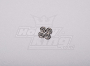 HK-250GT Ball Bearing 5 x 2,5 x 2 milímetros (4pcs / set)