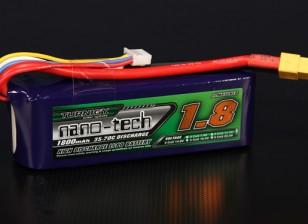 Turnigy nano-tecnologia 1800mAh 4S 35 ~ 70C Lipo pacote