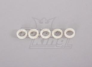 Nylon Washer 10 milímetros (5pcs)