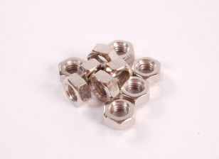 Hex-nuts 10pc M2