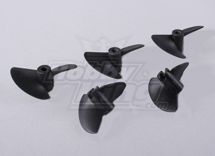 2-Blade barco Hélices 40x45mm (5pcs / bag)