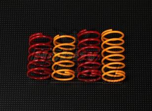 QRF400 de choques traseiro Conjunto Primavera (37 milímetros x 19,5 milímetros)