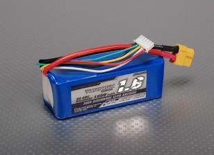 Turnigy 1600mAh 4S 30C Lipo pacote