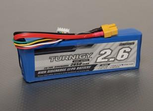 Turnigy 2650mAh 4S 20C Lipo pacote