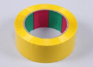 Asa Tape 45mic x 45 milímetros x 100 m (Wide - amarelo)