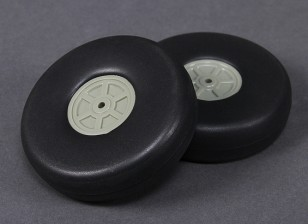 Leve Scale 100 milímetros roda (2pc)