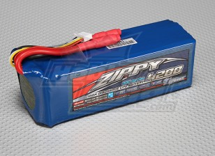 ZIPPY Flightmax 4200mAh 4S2P 30C LiFePo4 pacote