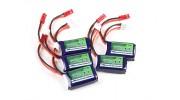 Turnigy nano-tech 180mAh 2S 25~40C Lipo Pack2