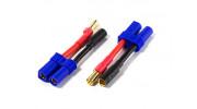 EC5 Female to 5.5mm Male/Female Battery Adapter (2pcs)