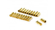5.5mm PolyMax Gold Plated Solder Type Battery/Motor Connectors (10 pairs)