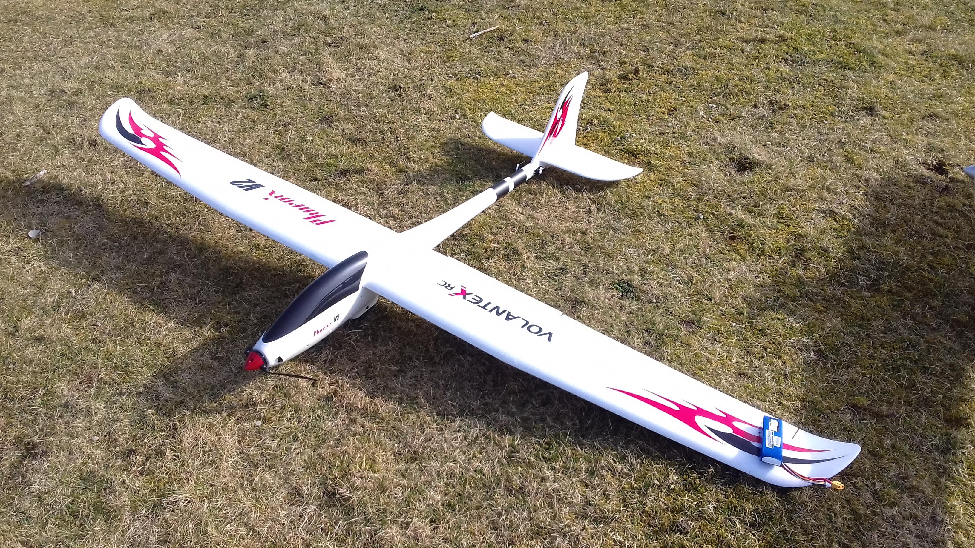 Phoenix V2 EPO Composite RC Glider 2000mm (78 7