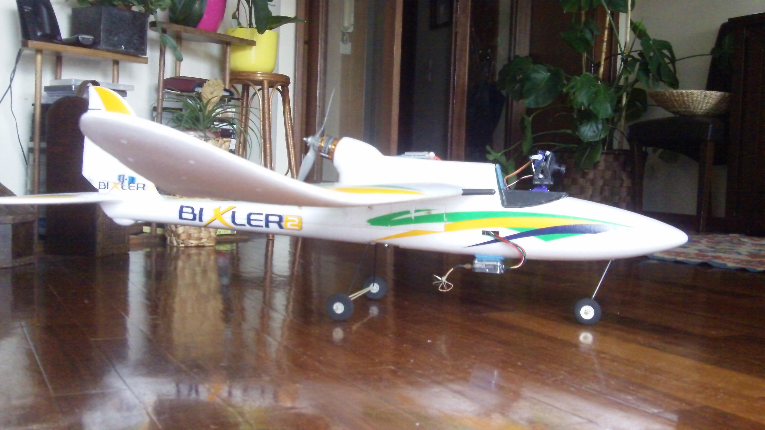 HobbyKing® Bixler® 2 OEP 1500 mm w / Flaps opcionales (KIT)