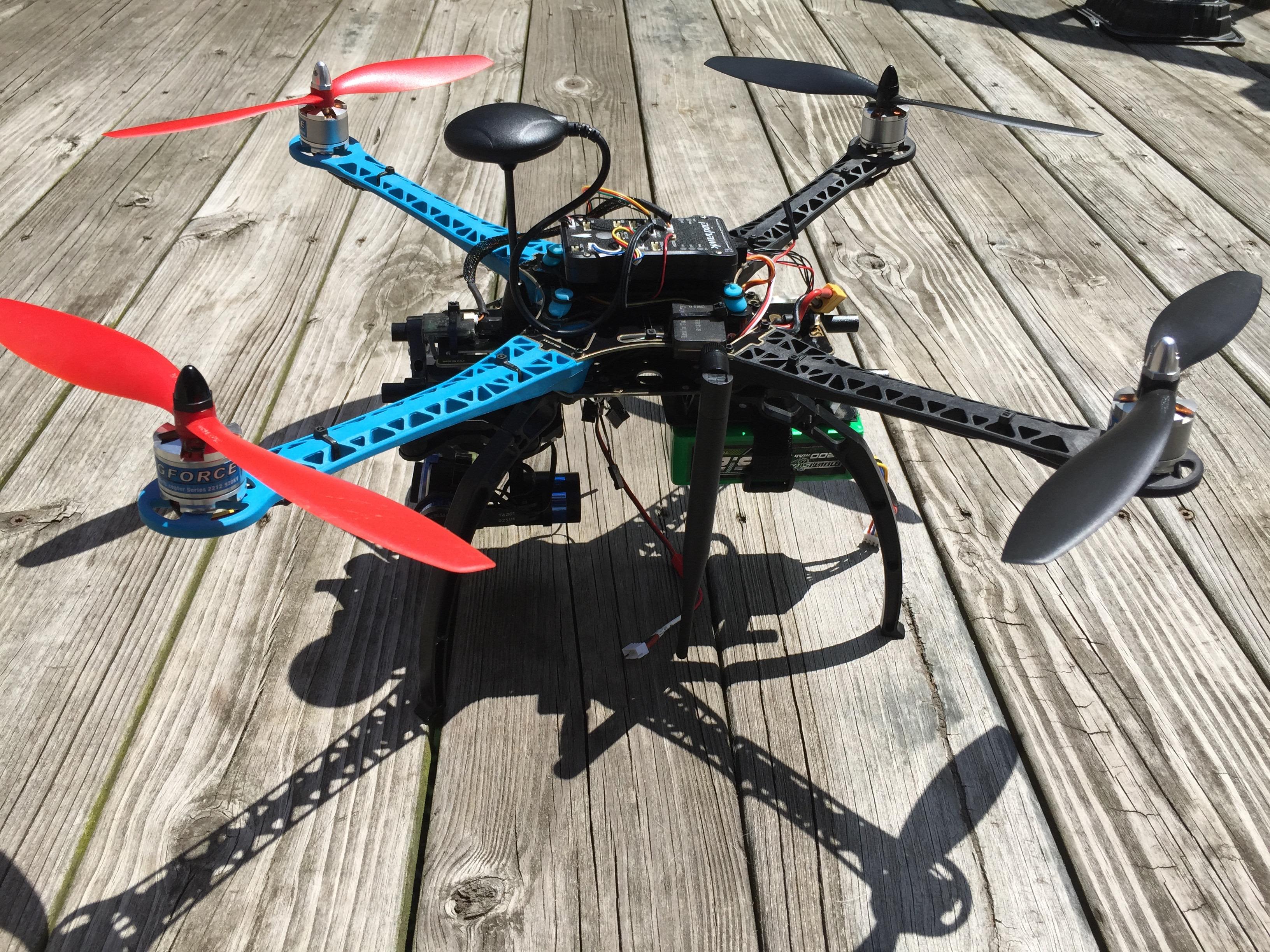 S500 Gl Fiber Quadcopter Frame 480mm - Integrated PCB Version Hobbyking Quadcopter Wiring Diagram on