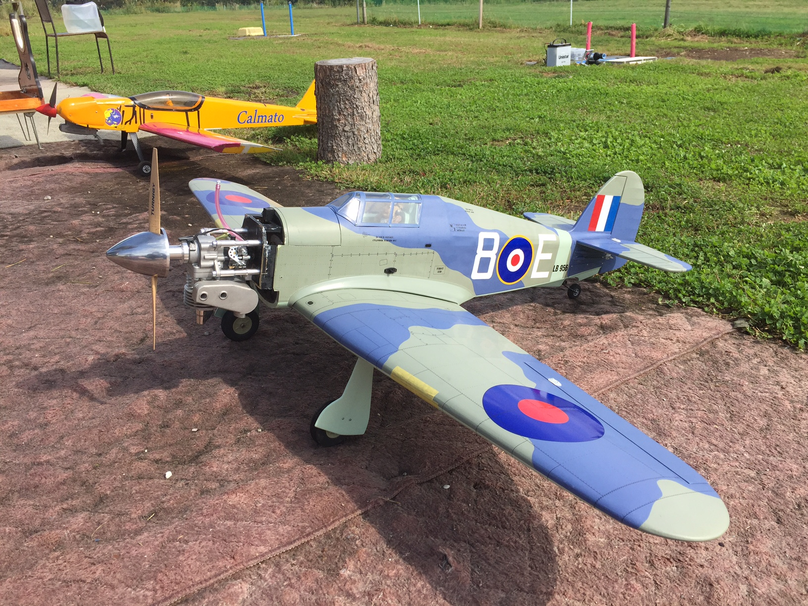 Hawker Sea Hurricane EP-GP Grey Version 1486mm Wingspan(58